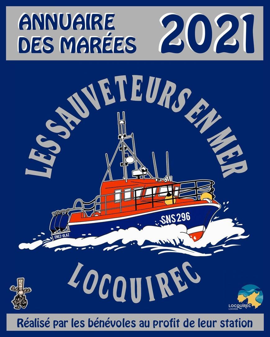 Calendrier Des Marées 2021 Penestin L'annuaire des marées 2021 est paru | STATION SNSM DE LOCQUIREC